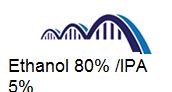 Ethanol 80% VV 5% IPA VV