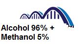 Alcohol 96% + Methanol 5%